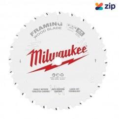 "Milwaukee 48418720 - 184mm (7-1/4"") Framing 24T Circular Saw Blade Milwaukee Accessories"