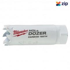 "Milwaukee 49560702 - 19mm (3/4"") HOLE DOZER with Carbide Teeth Hole Saw Milwaukee Accessories"