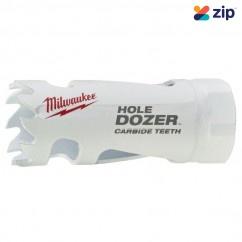 "Milwaukee 49560704 - 22mm (7/8"") HOLE DOZER with Carbide Teeth Hole Saw Milwaukee Accessories"