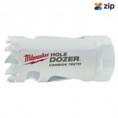 "Milwaukee 49560707 - 25mm (1"") HOLE DOZER with Carbide Teeth Hole Saw Milwaukee Accessories"