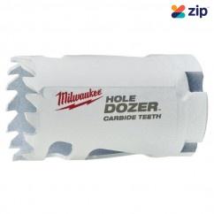 "Milwaukee 49560710 - 32mm (1-1/4"") HOLE DOZER with Carbide Teeth Hole Saw Milwaukee Accessories"