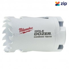 "Milwaukee 49560712 - 35mm (1-3/8"") HOLE DOZER with Carbide Teeth Hole Saw Milwaukee Accessories"