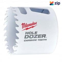 """Milwaukee 49560722 - 54mm (2-1/8"""") HOLE DOZER with Carbide Teeth Hole Saw"""