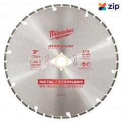 """Milwaukee 49937820 - 178mm (7"""") Steelhead Diamond Cut Off Blade"""