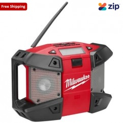 Milwaukee C12JSR-0 12V Compact M12 Jobsite Radio Skin Skins - Radios