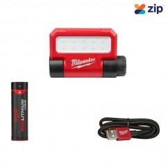 Milwaukee L4FFL-201 - 100/250/550 Lumens USB Folding Flood Light Kit