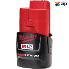 Milwaukee M12B - 12V 1.5Ah RedLithium Battery Batteries & Chargers