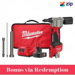 Milwaukee M12BPRT-401B - 12V M12 Rivet Tool Kit