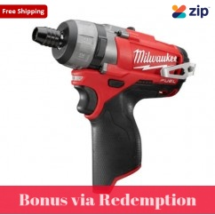 "Milwaukee M12CD-0 12v 1/4"" Cordless Hex Drill Driver Skin Skins - Drills"