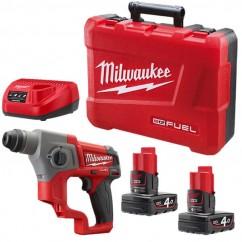 Milwaukee M12CH-402C - 12V Cordless M12 FUEL SDS Rotary Hammer Kit Cordless Rotary Hammers