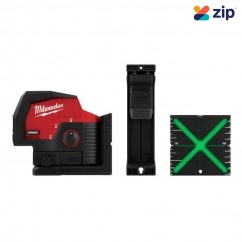Milwaukee M12CPL-0C - Cross Line + 2 Plumb M12 Laser Skin Laser Distance Measurers
