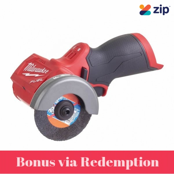 Milwaukee M12FCOT-0 - 12V M12 76mm Cordless Brushless Compact Cut Off Tool Skin Circular Saws