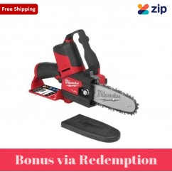 "Milwaukee M12FHS-0 - 12V FUEL 152 mm (6"") HATCHET Brushless Cordless Pruning Chainsaw Skin Chain Saw"
