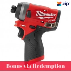 "Milwaukee M12FID-0 - 12V M12 1/4"" Brushless Cordless Hex Impact Driver Skin Impact Drivers/Drills"