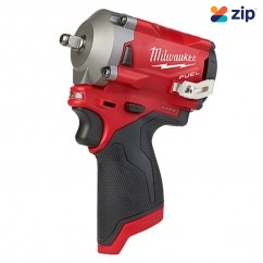 "Milwaukee M12FIW38-0 - 12V 3/8"" FUEL Stubby Impact Wrench Skin Impact Drivers/Drills"