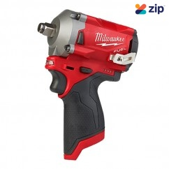 "Milwaukee M12FIWF12-0 - 12V 1/2"" FUEL Stubby Impact Wrench Skin Impact Drivers/Drills"
