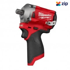 "Milwaukee M12FIWP12-0 - M12 Fuel 1/2"" Cordless Stubby Impact Wrench Skin W/Pin Detent Impact Wrenches"