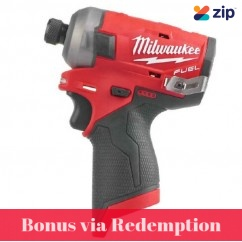 "Milwaukee M12FQID-0 - 12V 1/4"" Brushless M12 FUEL SURGE Hex Hydraulic Impact Driver Skin"