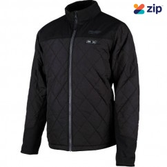Milwaukee M12HJMBLACK9-0L - 12V Cordless AXIS Black Heated Jacket Skin - Large Size Jackets