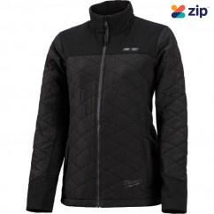 Milwaukee M12HJMBLACK9W-0L - 12V Cordless AXIS Black Heated Jacket Women Skin - Large Size Jackets