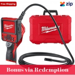 Milwaukee M12ICAV3-90C - 12V Li-ion M-Spector Flex Inspection Camera Skin w/ Case Skins - Cameras