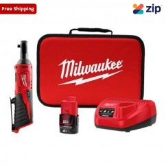 "Milwaukee M12IR-201B - 12V 2.0Ah  3/8"" M12 Cordless Ratchet Kit Cordless Drills - Impact"