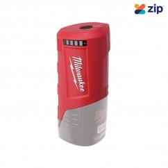 Milwaukee M12PP-0 - 12V Li-ion Cordless GEN 2 Power Source Skin Batteries & Chargers