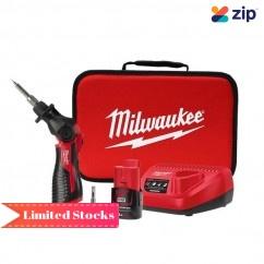 Milwaukee M12SI-301B - 12V Cordless Soldering Iron Combo Kit Soldering Irons