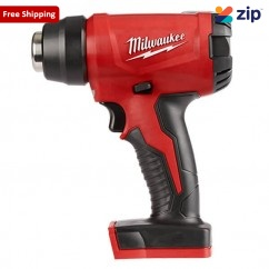 Milwaukee M18BHG-0 - 18V Cordless Compact Heat Gun Skin