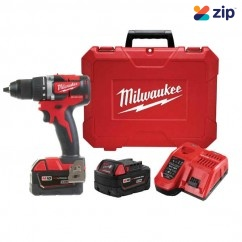 Milwaukee M18CBLDD-302C - 18V 13mm  Compact Brushless Drill/Driver Kit Driver Drills