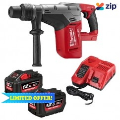 Milwaukee M18CHM-122C - 18V Cordless Fuel SDS-Max 12.0Ah Rotary Hammer Kit Rotary Hammer Drills