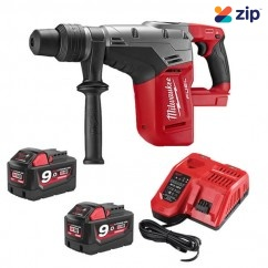 Milwaukee M18CHM-902C - 18V Cordless Fuel SDS-Max 5kg Rotary Hammer Kit Cordless Rotary Hammers