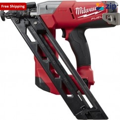 Milwaukee M18CN15GA-0C - 18V Cordless M18 Fuel 15GA DA Angled Finish Nailer Skin Skins - Nail Guns