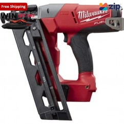 Milwaukee M18CN16GA-0C - 18V Cordless M18 Fuel 16GA Angled Finish Nailer Skin Skins - Nail Guns