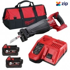Milwaukee M18CSX-502B -  M18 FUEL SAWZALL Reciprocating Saw Kit   Cordless Sabre Saws