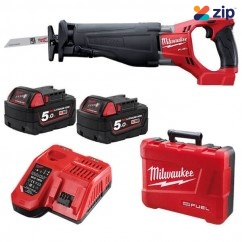 Milwaukee M18CSX-502C -  M18 FUEL SAWZALL Reciprocating Saw Kit   Cordless Sabre Saws