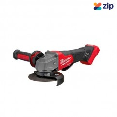 """Milwaukee M18FAG125XPD-0 - 18V Fuel 125mm (5"""") Cordless Brushless with Deadman Paddle Switch Angle Grinder Skin 125mm Grinders"""
