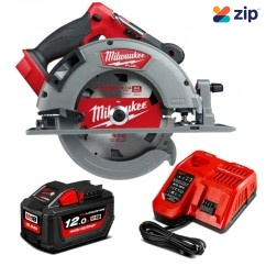"Milwaukee M18FCS66-121C – 18V 12Ah Li-ion Cordless M18 Fuel 184mm (7"") Circular Saw Kit"