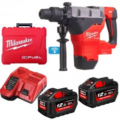 Milwaukee M18FHM-122C - 18V 12.0Ah 44mm FUEL SDS Max Rotary Hammer Kit w/ ONE-KEY Rotary Hammer Drills