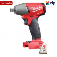 """Milwaukee M18FIWP12-0 - 18V Cordless M18 Fuel 1/2"""" Impact Wrench Skin Skins - Impact Wrenches Square Drive"""