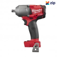 "Milwaukee M18FMTIWF12-0 - 18V Cordless Fuel 1/2"" Mid-Torque Impact Wrench with Friction Ring Skin Skins - Impact Wrenches Square Drive"