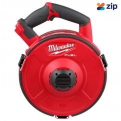 Milwaukee M18FPFT30-0 - M18 Fuel 18V Cordless Brushless With 30M Non-Conductive Cartridge Powered Fish Tape Skin