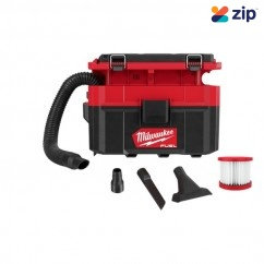 Milwaukee M18FPOVCL-0 - 18V M18 Cordless Brushless PACKOUT Wet/Dry Vacuum Skin Vacuums & Dust Extractors