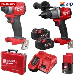 Milwaukee M18FPP2A2-502C - GEN III 18V 5.0Ah Brushless Cordless M18 Fuel 2 Piece Combo Kit