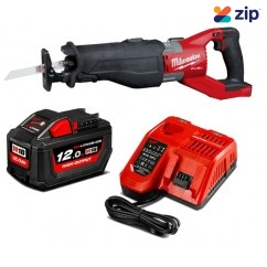 Milwaukee M18FSX-121C - 18V 12.0Ah Li-ion Cordless Sawzall Reciprocating Saw Combo Kit