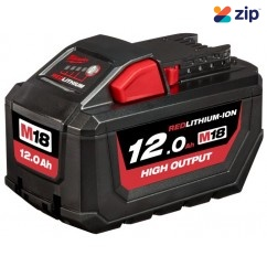 Milwaukee M18HB12 - 18V 12Ah High Output Battery RED LITHIUM Li-ion Cordless  Batteries