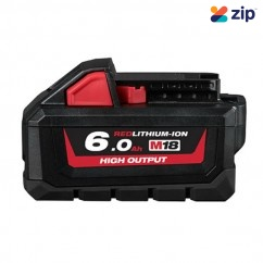 Milwaukee M18HB6 - 18V 6.0Ah Li-ion High Output RED LITHIUM Battery Batteries