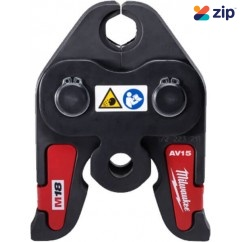 "Milwaukee M18HPT-AV15 - M18 1/2"" Press Tool Jaw For M18BLHPT-0 Milwaukee Accessories"