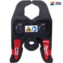 "Milwaukee M18HPT-AV32 - M18 1-1/4"" Press Tool Jaw For M18BLHPT-0 Milwaukee Accessories"