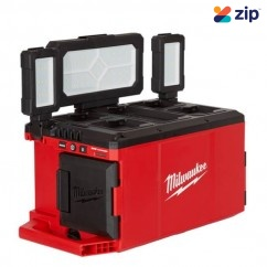 Milwaukee M18POALC-0 - 18V Cordless PACKOUT Area Light & Charger Skin Lights & Torches